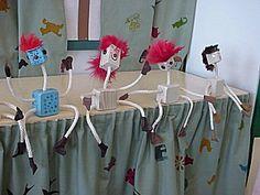 Opetusvinkkejä Alhojärven koululta. Puu-ukko, vartalo puusta,raajat rautalankanarusta,kengät ja rukkaset nahasta,hiukset turkista,nenä ja korvat helmistä ja napeista Wood, Crafts, Peda, Woodwind Instrument, Wood Planks, Crafting, Trees, Handmade Crafts, Home Decor Trees
