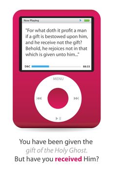 A few years back my husband gave me a pink iPod for Mother's Day.  He and the kids were so excited to give it to me.  They had heard me mention that I really wanted something to play music on…
