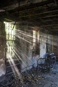 Jeremy Harris: Former Buffalo State Lunatic Asylum (later the Richardson Olmstead Complex), and had been abandoned since the 1980s.