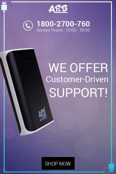 We Offer Customer-Driven Support!  ‪#‎ARBPowerBank‬ ‪#‎PowerBank‬  Grab Now @ http://arbpowerbank.com/