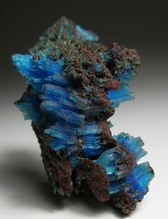 All Natural Chalcanthite Crystals, Planet Mine, Arizona
