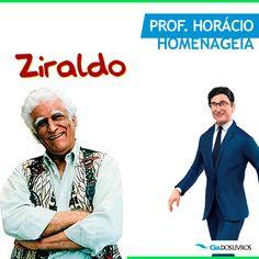 """#ProfHoraciohomenageia o nosso """"maluquinho"""" Ziraldo! ;-) :-D Esse mineiro de Caratinga, nascido Ziraldo Alves Pinto (ZAP) em 24 de outubro de 1932 é o nosso homenageado do dia! Cartunista, chargista, pintor, dramaturgo, caricaturista, escritor, cronista, desenhista, humorista, colunista e jornalista brasileiro. Ele é o criador do famoso personagem """"Menino Maluquinho"""", que apronta peripécias e porta uma panela na cabeça. """"Bora"""" conferir obras sobre o autor?! ;-) -> http://goo.gl/nH6fM7"""