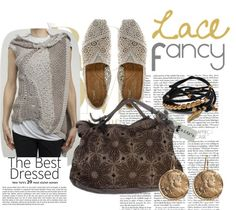 A Lace Fancy @ Dei Fashion Store  - Rick Owens top - Toms shoes - Giorgio Brato bag http://www.deifashionstore.com/
