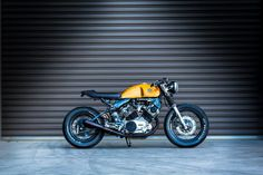 Yamaha Virago Cafe Racer - found on RocketGarage