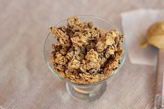 Peanut Butter Granola from Oatmeal with a Fork