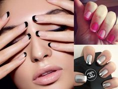 Modele de unghii french Nailed It, Nails, Beauty, Finger Nails, Ongles, Nail, Beauty Illustration, It Works, Manicures