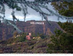 Have been to LA, but couldn't see the Hollywood sign due to rainy clouds :(