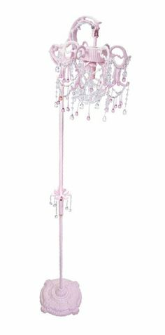 Charming Beautiful Floor Lamp! So Cute For A Little Girls Room