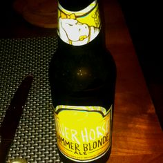 Summer Blonde by River Horse A very light blonde, fresh, crisp ale. Maybe lacking a bit of character and cery light (4.5%)