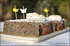 The Kitchen Lioness: Springtime Baking: Lemon Cake with Almonds & Poppy Seeds