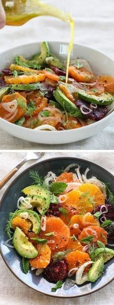 More than 1001 summer salad recipe ideas for # Ideas # Recipe Recetas Real Food Recipes, Vegetarian Recipes, Cooking Recipes, Healthy Recipes, Good Food, Yummy Food, Salty Foods, Light Recipes, Salad Recipes