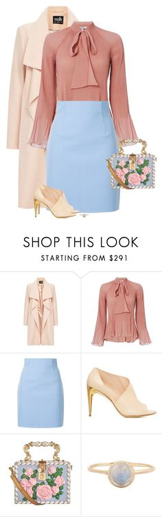 """""""Easter Sunday"""" by seafreak83 ❤ liked on Polyvore featuring 10 Crosby Derek Lam, MSGM, La Perla, Dolce&Gabbana, Spring, Easter, formal, pastel and sunday"""