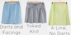 How to Draft and Sew a Skirt