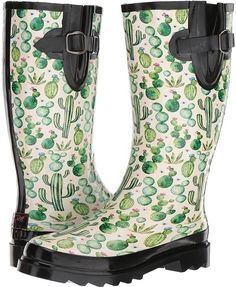 Western Cacti M&F Western Cacti Women's Boots. These would be awesome for volunteeringM&F Western Cacti Women's Boots. These would be awesome for volunteering Sock Shoes, Cute Shoes, Me Too Shoes, Mode Chic, Mode Style, Rain Boots, Shoe Boots, Women's Boots, Heeled Boots