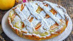 Tarte à la crème aux pommes et au mascarpone Apple Pie, Biscuits, Cookies, Orange, Cat, Cream Pie, Apple Cakes, Sweet Recipes, Cooking Recipes