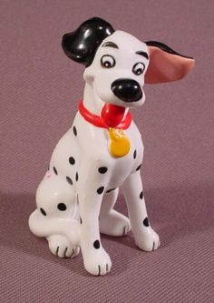 "Disney 101 Dalmatians Pongo PVC Figure, 2 3/4"" Tall"