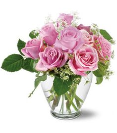 Our pink and tender bouquet is a simple and elegant bouquet for any lover of pink!