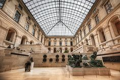 Louvre. One of the biggest museums in the works and it is in the middle of the city of Paris!!!! It would take 2 months see all it has to offer :)