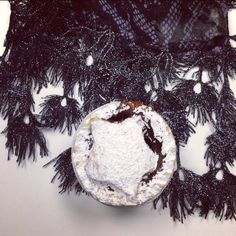 Feeling festive at the Alexia office today  #mincepie #TiaScarf #Christmas #instafood #scarf #festive