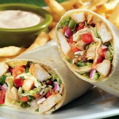 Applebees Chicken Fajita Rollup -This is so good!