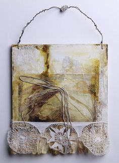 Beautiful mixed media work: Wing by katerunner, via Flickr