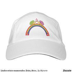 Lindos erizos enamorados. Erizo, Arcoiris. Producto disponible en tienda Zazzle. Accesorios, moda. Product available in Zazzle store. Fashion Accessories. Regalos, Gifts. Link to product: http://www.zazzle.com/lindos_erizos_enamorados_erizo_arcoiris_headsweats_hat-256523205810714845?CMPN=shareicon&lang=en&social=true&rf=238167879144476949 Día de los enamorados, amor. Valentine's Day, love. #ValentinesDay #SanValentin #love #gorra #hat #erizo #hedgehog
