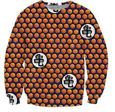 Dragon Ball Z Crystal Ball Dots Pattern Sweatshirt