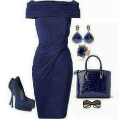 Navy Blue Dress ▶suggested by ~Sophistic Flair~
