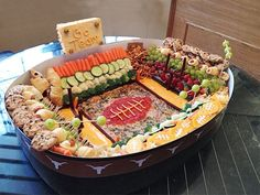 Snack Stadium Showdown | Every Day Scoop- About 6 different snack bowl combos to try for Super Bowl!