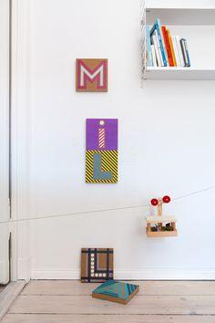 We Like Mondays // WLKMNDYS // Happy Monday DIY // Buchstabenbilder