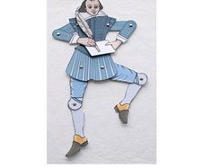 Image result for shakespeare toy paper printable