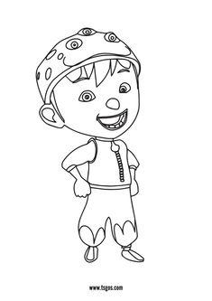 Boboiboy Smile Coloring Page For Kids Christmas Unicorn, Unicorn Halloween, Halloween Books, Coloring Apps, Coloring Pages For Kids, Adult Coloring, Instagram Logo, Lol Dolls, Pokemon