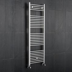 Kudox - Premium Flat Heated Bathroom Towel Rail 1500mm x 500mm
