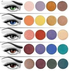 Perfect shades for your eye color!