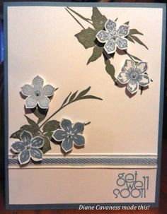Stampin' Up Petite Petals, Fabulous Florets