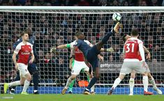 Manchester United's Paul Pogba attempts to control the ball under pressure from Arsenal Arsenal v Manchester United - Premier League - Emirates Stadium . Get premium, high resolution news photos at Getty Images Manchester United Premier League, Paul Pogba, Under Pressure, Liverpool, Sports, News, Hs Sports, Sport, Exercise