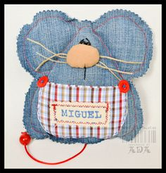 Miguel the mouse...soft toy…or tiny version as a Christmas mouse! :)