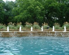 Water Feature by Allison Landscape & Pool Company