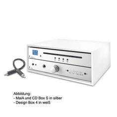 Pro-Ject MaiA / CD Box S silber SuperPack mit Design Box 4 schwarz