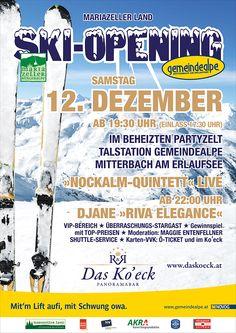 #SkiOpening im #Mariazellerland