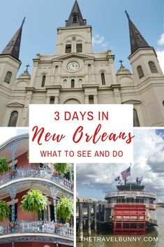 The ultimate travel guide to New Orleans. What to see and do in the Big Easy, when to go, where to stay and how to save money with free things to do in the city #neworleans #USA #cityguide