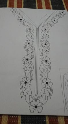 Aari Embroidery Hand Embroidery Designs Machine Embroidery Paint Designs Designs To Draw Neck Pattern Edwardian Dress Fabric Patterns Sewing Patterns Hand Embroidery Patterns Flowers, Border Embroidery Designs, Embroidery Motifs, Simple Embroidery, Embroidery Kits, Machine Embroidery Designs, Neckline, Google, Hand Embroidery Patterns