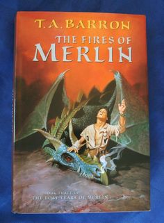 The Fires of Merlin, Lost Years of Merlin #3 by T. A. Barron 1998 HCDJ in Books, Fiction & Literature | eBay