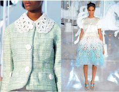 L V set the stage for pastels this season!