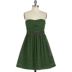 Fern by Heart Dress ($60) ❤ liked on Polyvore featuring dresses, vestidos, green, short dresses, green mini dress, stretchy dresses, stretch dress and short green dress