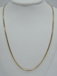 "SOLID 14K YELLOW GOLD 20"" FOXTAIL NECKLACE CHAIN 1.6MM AURAFIN ITALY 5.3g SMOOTH #AURAFIN #Chain Necklace Chain, Pendant Necklace, Gold Necklaces, Smooth, Italy, Yellow, Jewelry, Necklace Ideas, Italia"
