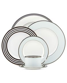 kate spade new york Dinnerware, Parker Place Collection - kate spade China - Dining & Entertaining - Macy's