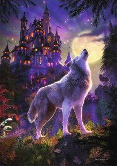 Starline Glow - Moon Wolf