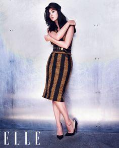 Katy Perry in Prada for Elle UK September 2013