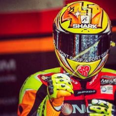 Aleix EsPargaro Racing Helmets, Shark, Sharks